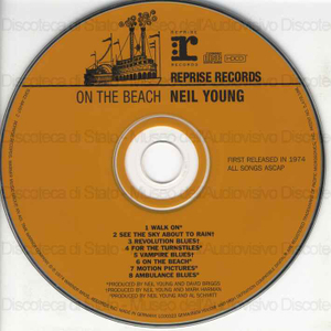 On the beach / Neil Young
