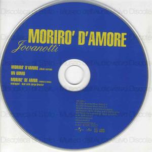 Moriro'''' d'''''''''''amore / Jovanotti