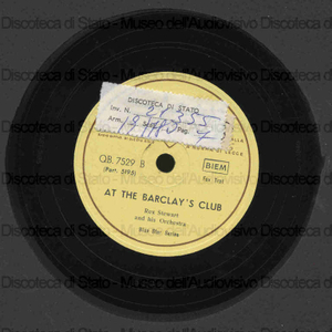 At the barclay's club ; Jug blues / Rex Stewart e orchestra