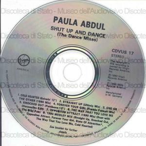Shut up and dance : the dance mix / Paula Abdul