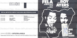 Music of many colors / Fela Anikulapo Kuti of Africa and Roy Ayers of America