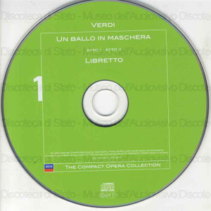Un ballo in maschera = A masked ball / Giuseppe Verdi ; Libretto: Antonio Somma ; Orchestra and Chorus of the Royal Opera House, Coven Garden ; Colin Davis ; [interpreti]: J. Carreras, I. Wixell, M. Caballe' ... [et al.]