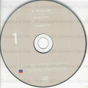 Elektra / Richard Strauss ; Libretto: Hugo Hofmannsthal ; Tanglewood Festival Chorus ; Boston Symphony Orchestra ; Seiji Ozawa ; [interpreti]: C. Ludwig, H. Behrens, N. Secunde ... [et al.]
