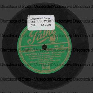"""Papaveri e papere ; Buona Pasqua / Renato Carosone e il suo """"Trio"""" ; canta Ray Martin"""