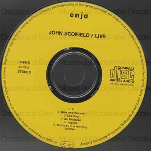 John Scofield Live / John Scofield