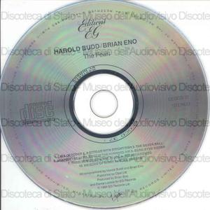 The pearl / Harold Budd, Brian Eno