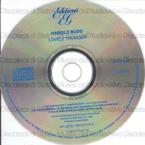 Lovely thunder / Harold Budd