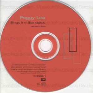Peggy Lee sings the Standards