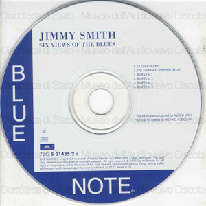 Six views of the blues / Jimmy Smith, organ ; Cecil Payne, baritone saxophone ; Kenny Burrell, guitar ... [et al.]