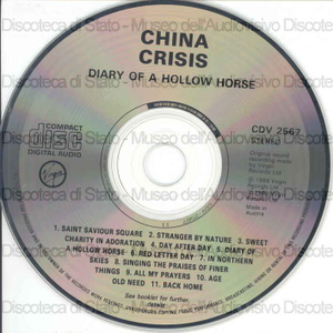 Diary of a hollow horse / China Crisis
