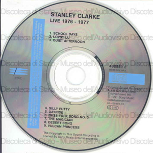 Live 1976-1977 / Stanley Clarke