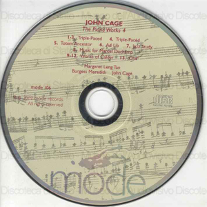 The piano works 4 / John Cage