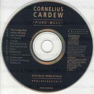 Piano music / Cornelius Cardew