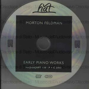 Early piano works / Morton Feldman ; Stefen Schleiermacher