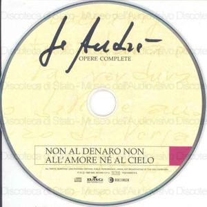 Non al denaro non all'amore ne' al cielo / Fabrizio De Andre''