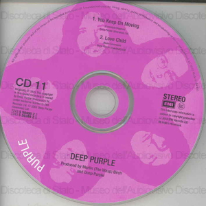 You keep on moving ; Love child / Deep Purple