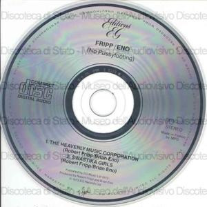 No pussyfooting / Brian Eno, Robert Fripp