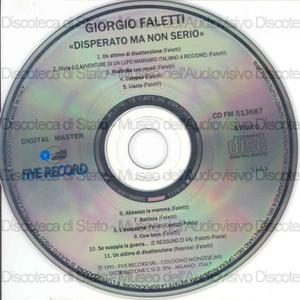 Disperato ma non serio / Giorgio Faletti