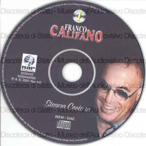 Stasera canto io / Franco Califano