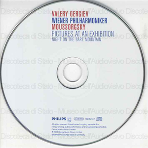 Pictures at an Exhibition ; Prelude to Khovanshchina ; Night on the Bare Mountain ... / Modest Moussorgsky ; Wiener Philharmoniker ; Valery Gergiev
