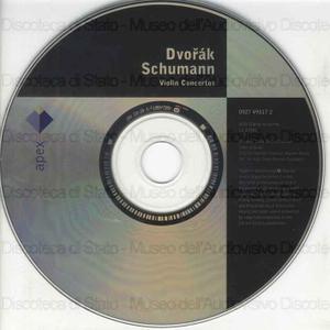 Violin Concertos / Dvorak, Schumann ; Thomas Zehetmair, violin ; Philarmonia Orchestra ; [dirige]: Eliahu Inbal, Christoph Eschenbach