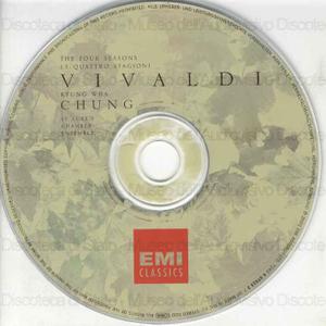 Le Quattro Stagioni = The four seasons / Vivaldi ; Kyung Wha Chung, violino ; St. Luke's Chamber Ensemble