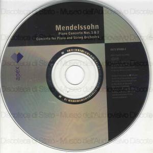 Piano concerto Nos. 1 & 2 ; Concerto for piano and string orchestra / Felix Mendelssohn ; Cyprien Katsaris, piano ; Gewandhausorchester Leipzig ; [direttore]: Kurt Masur ; Franz Liszt Chamber Orchestra ; [direttore]: Janos...