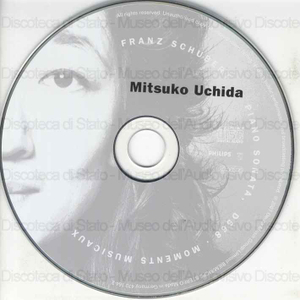 Piano Sonata in E flat major : D568 ; 6 Moment musicaux : D780 / Franz Schubert ; Mitsuko Uchida, piano