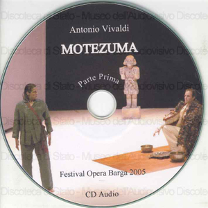 Motezuma / Antonio Vivaldi ; Uwe Schmitz-Gielsdorf, regista ; Orchestra Barocca Modo Antiquo ; Federico Maria Sardelli, dir. ; Paolo Atzori, scenografo ; Amelie Haas, costumista ; [Interpreti]: T. Scharfenberger, J....