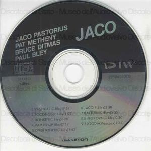 Jaco / Jaco Pastorius , Pat Metheney , Bruce Ditmas ...[et al.]