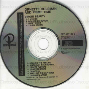 Virgin beauty / Ornette Coleman and Prime Time