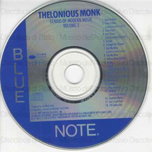 Genius of modern music : volume 2 / Thelonious Monk