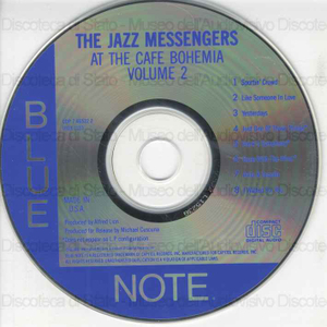 The jazz messengers : at the cafe Bhoemia, volume 2 / Kenny Dhoham, Hank Mobley, Silver Horace ...[et al.]