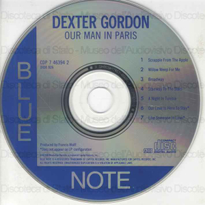 Our man in Paris / Dexter Gordon