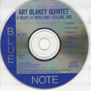 A night at birdland : volume one / Art Blakey Quintet
