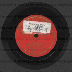 Sogno / F. P. Tosti ; parole di Stecchetti. Mefisto / B. Carelli ; parole di De Vio ; [entrambi i brani] trasc. Orchestrale A. Sabino ; [entrambi i brani esec. da ]: Tancredi Pasero