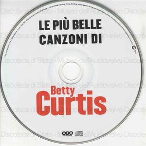 Betty Curtis : Le piu'' belle canzoni di