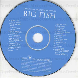 Big Fish : music from the motion picture / music by Danny Elfman