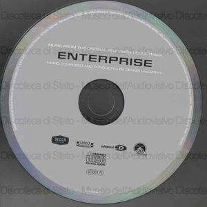 Enterprise : music from the original television soundtrack / music composed and conducted by Dennis McCarthy