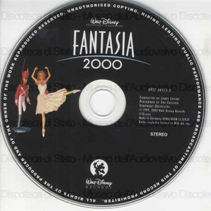 Fantasia 2000 : original soundtrack / conducted by James Levine, performed by The Chicago Symphony Orchestra