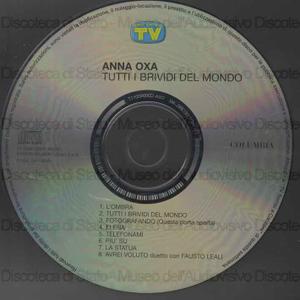 Tutti i brividi del mondo / Anna Oxa
