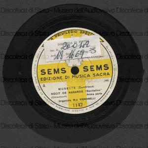 Musette / Dandrieux ; Vignanelli: organista