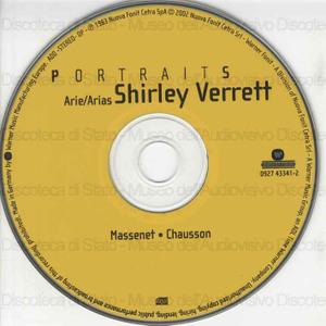 Arie/Arias : Portrait / Shirley Verret ; Orchestra Sinfonica di Torino della Rai ; Gabriele Ferro, direttore ; Jules Massenet, compositore ; Ernest Chausson, compositore