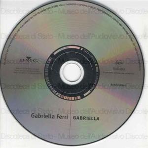 Gabriella / Gabriella Ferri ; Titolo di collana Gli Indimenticabili ; Anno di produzione1981