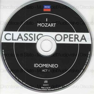 Idomeneo / Mozart ; Libretto: Giambattista Varesco ; [ interpreti ] Luciano Pavarotti, Agnes Baltsa, Lucia Popp ... [ et al. ] ; Konzertvereinigung Wiener Staat sopernchor ; Wiener Philarmoniker ; [ direttore d'orchestra ]...