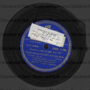 Grande Polacca Brillante : in Mi Bem. Magg., Op.22 ; Grande Valzer Brillante N.1 in Mi Bem.Magg., Op.18 / Chopin ; Claudio Arrau, pianoforte, The Little Orchestra Society