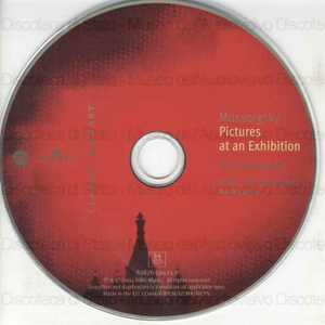 Pictures at an Exhibition / Modest Mussorgsky, compositore ; Yuri Temirkanov, conductor ; Royal Philharmonic Orchestra ; Sergei Leiferkus, baritono