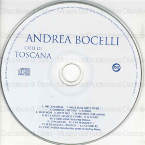 Cieli di Toscana / Andrea Bocelli