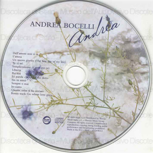 Andrea / Andrea Bocelli