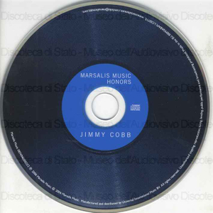 Jimmy Cobb : Marsalis music honors